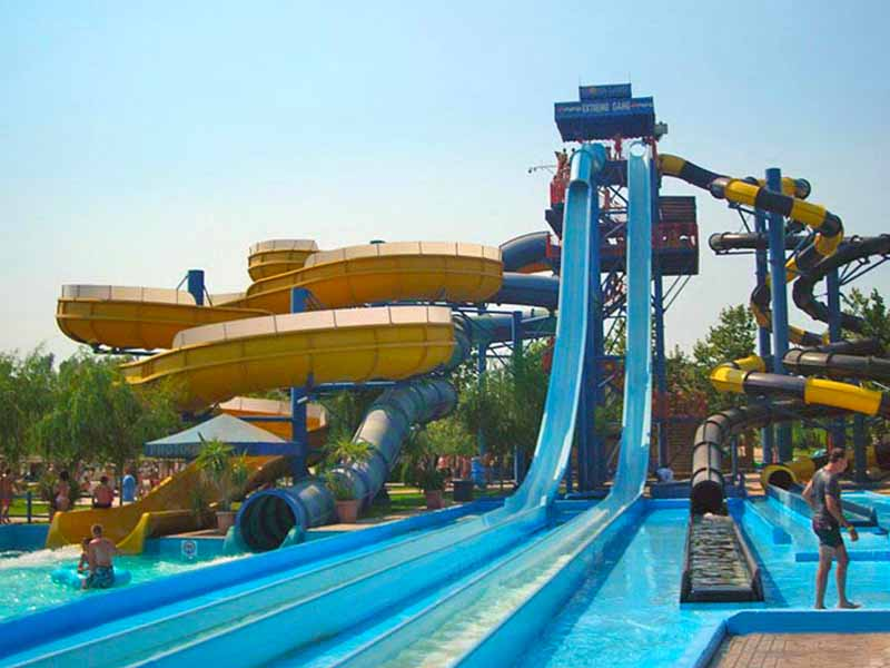 Aqualand Water Park on Corfu
